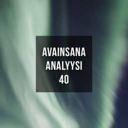 Avainsana-analyysi
